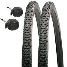 2x Raleigh CST T1533 700 x 35c Pioneer Hybrid Bike Tyres & Presta Tubes (1 Pair)