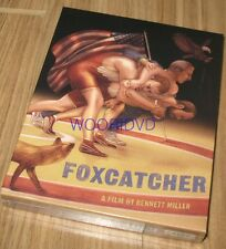 FOXCATCHER / PLAIN ARCHIVE / KEEP CASE BLU-RAY LIMITED EDITION NEW