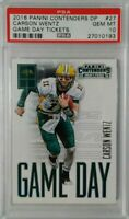 Carson Wentz  2016 Panini Contenders Game Day Tickets #27 RC Rookie PSA 10 hot