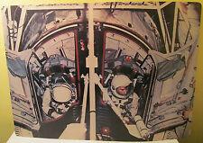 Gemini X Michael Collins, John Young Flight Sim. 1968