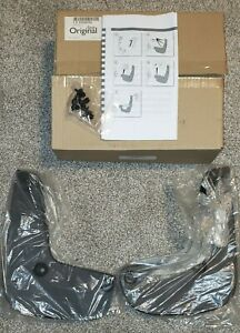 SAAB 9-5 2010 2011 NOS FRONT MUD FLAPS GUARDS KIT FACTORY In BOX