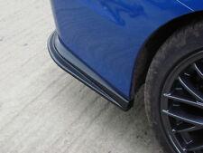 SUBARU STi WRX MY 2015 V2 Curved rear lips spoilers. NEW DESIGN.