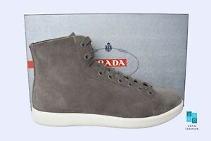 New in Box Authentic PRADA Mens Shoes Sz US10 EU43 UK9 Model 4T3149