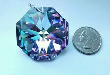 "RARE 40mm SWAROVSKI Vitrail Light Crystal Prism Octagon Ornament Suncatcher 1.5"""