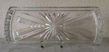 Kristallplatte Kuchenplatte Königskuchenplatte Sternschliff Kristallglas Glas