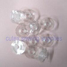 10 Plastic Bobbins For Singer 95 Class, 195, 251, 591 Sewing Machine #40264P