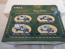 NIB ERTL ADULT COLLECTIBLE 4  ANHEUSER BUSCH 1:43 CLASSIC  DELIVERY TRUCKS