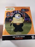 Illumination Despicable Me Eye Matie Minion Halloween Inflatable 6FT New In Box