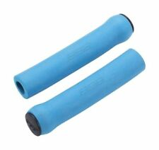 Puños azul universal para manillar de bicicletas