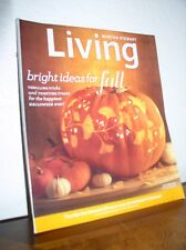 """Martha Stuart Living - October 2010 - No.203 """"Pumpkin Carving/Bright Ideas Fall"""