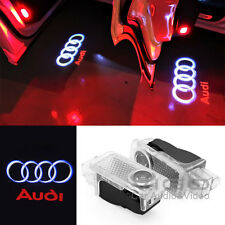 LED Logo Door Courtesy Light fits Audi A3 A4 A5 A6 A7 A8 Ghost Shadow Projector