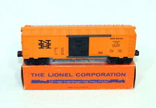 Postwar Lionel 6464-725 Orange New Haven Boxcar~Nice Original~w/OB