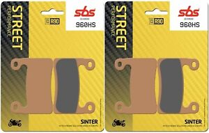 BMW S 1000 RR 19 - 20 SBS Front Sinter Brake Pads Set Genuine OE Quality 960HS