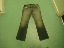 "Diesel Zink Jeans Waist 32"" Leg 32"" Faded Dark Blue Ladies Jeans"