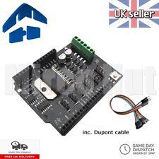 L298HN Dual Channel Motor Shield Rev3 4A-Max H-Bridge Driver - Arduino UNO L298P