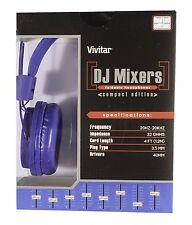 Vivitar DJ Mixers Foldable Headphones (Compact Editon)  LIMITED EDITION!!!!!