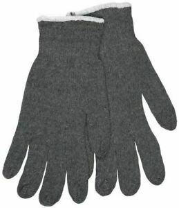 MCR Safety Large String Knit Grey Gloves 40 Dozen