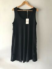 Country Road CR Love Sz S M L XL Bobble Linen Dress Black 10 12 14 16 XL