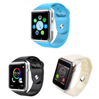 Smart Watch Bluetooth Waterproof Phone GSM SIM Card Support For Android