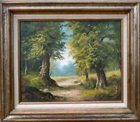 """Painting """"BEAUTIFUL ACRES"""" OIL ON CANVAS by artist """"B. C. WELLER"""""""