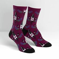 Sock it to me para mujer Crew Calcetines-vino