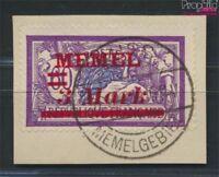 Memelgebiet 37a geprüft gestempelt 1921 Aufdruckausgabe (9039353