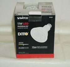 Satco S9089 11W (75W) 780 Lumens PAR30 Long Neck LED Cool White