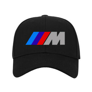 New Baseball Hat BMW M Power Sports Car Logo Printed Cap One Size Fits All #A