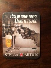 Michel GOURDON/RARE SOUS-BOCK STELLA ARTOIS/PAS DE SERIE NOIRE DANS LE TIRAGE