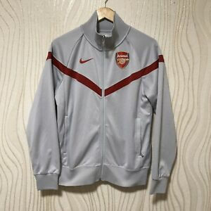 ARSENAL 2009 2010 FOOTBALL SOCCER TRACK TOP JACKET NIKE 380700-011