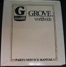 Grove Nugget B Series Self-Propelled Aerial Platform Parts and Service Manual