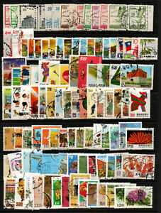 TAIWAN CHINA accumulation of good commercially used stamps