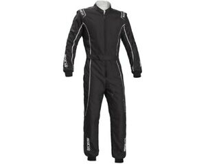 Go Kart Sparco Ks-3 Grove Kart Suit Black - Large Karting Racing Race