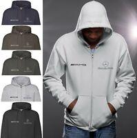 Mercedes AMG Fleece Hoodie Jacket Polar Jacke Coat Blouson Outdoor Sweat Gift