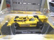 F1 renault RS rs01 turbo gp #15 Jabouille 1977 precio especial RBA Altaya 1:43