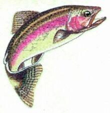 Embroidered Sweatshirt - Rainbow Trout BT2887 Sizes S - XXL