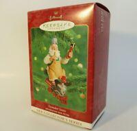 Hallmark Keepsake Ornament Toymaker Santa 1st first in series 2000