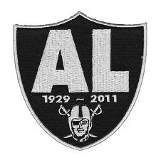 "🔥4"" OAKLAND RAIDERS AL DAVIS RIP 1929-2011 Iron-on Jersey PATCH! Raider Nation"