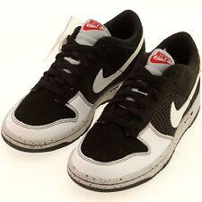 US sz 7.0 Nike Dunk Low GS Jordan Pack 4 IV Black Cement Edition
