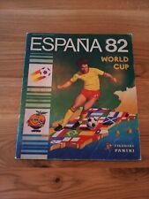 Panini fútbol Espana 82 WM WC 82 album cromos este álbum buen estado