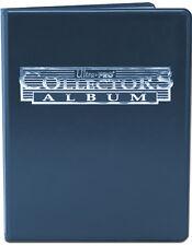 (3) Ultra Pro 4 Pocket Trading Card Album Binder (Blue) 10 Page Sports / Gamin