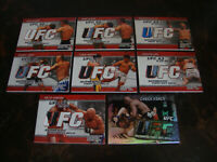2009-10 Topps UFC---Fight Mat Relic Card---(1) Card---Buyer's Choice---See List