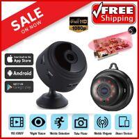 Mini Hidden Camera Wireless Wifi IP Home Security HD 1080P DVR Night Vision USA