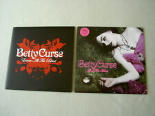 "BETTY CURSE job lot of 2 7"" vinyl singles Excuse All The Blood God This Hurts"