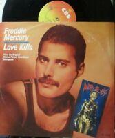 "FREDDIE MERCURY ~ Love Kills ~ 12"" Single PS"