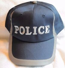 Blue and Gray Police Costume Baseball Adjustable Ball Cap Hat,Law Enforcement,