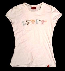 LEVIS Girls Cream Flowery Top, 12 years