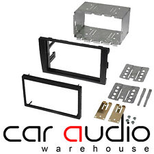 Audi A4 B6 2000 - 2006 Double DIN Car Stereo Radio Fascia Panel Plate & Cage Kit