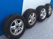 Honda CRV  Mk1  used Alloy wheels with Bridgestone Dueller Tyres 205/70/15