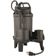 Utilitech Cast Iron 0.33-HP Thermoplastic Tethered Float Switch Sewage Sump Pump